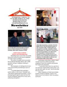 thumbnail of RHI- April 2018 Newsletter