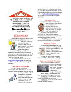 thumbnail of RHI- August 2018 Newsletter