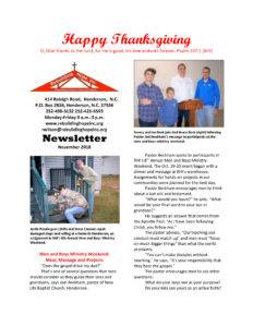 thumbnail of RHI- November 2018 Newsletter