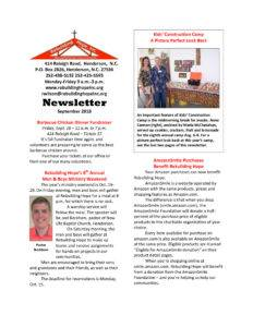 thumbnail of RHI- September 2018 Newsletter