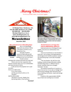 thumbnail of RHI- December 2018 Newsletter