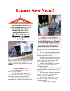 thumbnail of RHI- January 2019 Newsletter