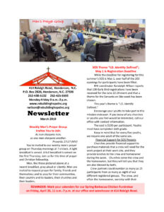 thumbnail of RHI- March 2019 Newsletter