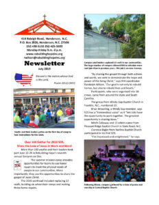 thumbnail of RHI- July 2019 Newsletter