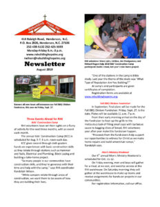 thumbnail of RHI- August 2019 Newsletter