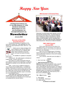 thumbnail of RHI- January 2020 Newsletter