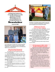 thumbnail of RHI- February 2020 Newsletter